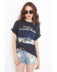 Nasty Gal | Black Tales From Topographic Oceans Tee | Lyst