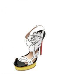 Nicholas Kirkwood   Multicolor 130mm Leather Flower & Elaphe Sandals   Lyst