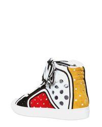 Pierre Hardy - Multicolor Powrama Suede Sneakers for Men - Lyst
