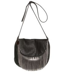 Stella McCartney | Black Cambride Faux Leather Boldy Shoulder Bag | Lyst