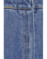 Stella McCartney - Blue Mid-Length Denim Skirt - Lyst