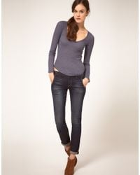 Textile Elizabeth and James | Blue Textile Elizabeth & James Jeans Iggy Slim Boyfriend Maverick Wash | Lyst