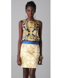 Tibi - Blue Horseshoe Crab Dress - Lyst