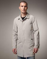 Burberry Brit - Natural Nylon Rain Coat for Men - Lyst