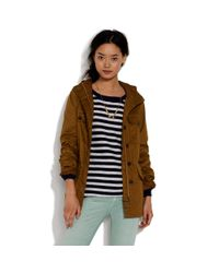 Madewell | Brown Offmap Utility Jacket | Lyst