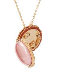 Disaya | Pink Macaroon Pendant | Lyst