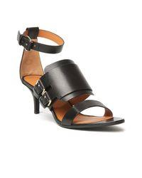 Givenchy - Black Biker Sandal - Lyst