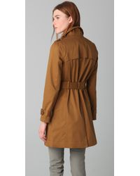 Madewell - Brown Harrison Trench Coat - Lyst