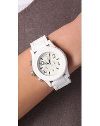 Nixon - White The Rubber 42-20 Chrono Watch - Lyst