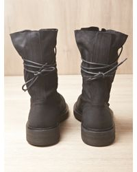 Ann Demeulemeester - Black Mens Scamosciato Boots for Men - Lyst
