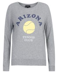 A.P.C. | Gray Grey Arizona Tennis Sweatshirt | Lyst