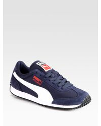PUMA | Blue Whirlwind Classic Sneakers for Men | Lyst