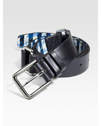 Robert Graham | Black Victoria Leather Belt for Men | Lyst