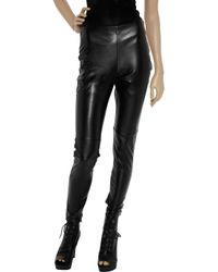 Sachin & Babi   Black Faux Leather Zucko Pants   Lyst