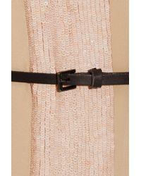 Sachin & Babi - Pink Kristina Sequined Silk-crepe Dress - Lyst