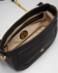 Tory Burch - Amanda Crossbody Messenger, Black - Lyst