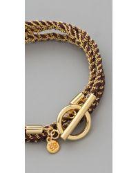 Gorjana - Brown Kingston Wrap Bracelet - Lyst