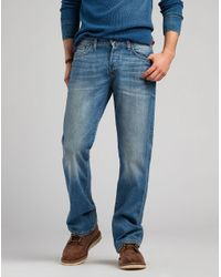 Lucky Brand - Blue 227 Original Boot Jeans for Men - Lyst