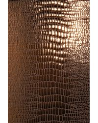 Melissa Odabash - Metallic Amalfi Reptile-print Swimsuit - Lyst
