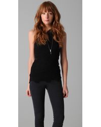 Nightcap - Black One Shoulder Top - Lyst