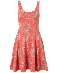 TOPSHOP   Red Laura Dress By Jones and Jones   Lyst