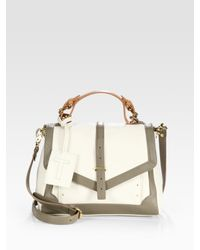 Tory Burch | Natural 797 Satchel | Lyst