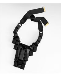 Tory Burch - Black Skyline Bib Necklace - Lyst