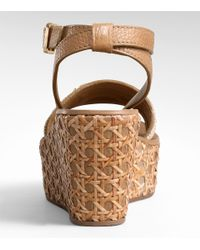 Tory Burch - Brown Camylle Mid Wedge - Lyst