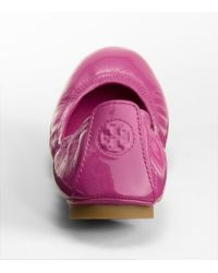 Tory Burch - Pink Limited Edition Eddie Ballet Flat - Lyst
