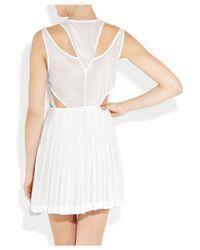 Camilla & Marc - White Supremacy Chiffon Dress - Lyst