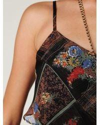 Free People - Black Dress In Gypsy Daisy Print - Lyst