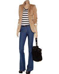 M Missoni - Blue Carre Bootcut Jeans - Lyst