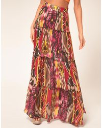 Miss Sixty | Pink Maxi Skirt | Lyst
