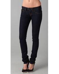 True Religion | Black Alexa Phantom Simply Selvedge Skinny | Lyst