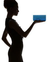 Judith Leiber - Womens Ritz Fizz Clutch Capri Blue - Lyst