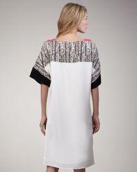 Sachin & Babi | White Janice Off-The-Shoulder Shift Dress | Lyst