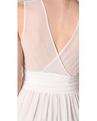 3.1 Phillip Lim - White Sleeveless Chiffon Dress - Lyst