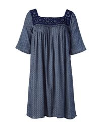 Antik Batik - Blue Tunic Dress - Lyst