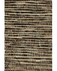 Bottega Veneta | Brown Basket-print Bandeau Bikini | Lyst