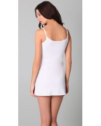 Commando - White Mini Cami Slip - Lyst