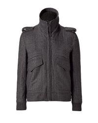 Dolce & Gabbana | Gray Herringbone Jacket for Men | Lyst
