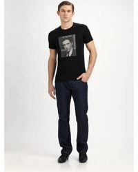 Dolce & Gabbana - Black Al Pacino Printed Tee for Men - Lyst