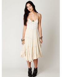 Free People - Natural Fp One Diani Beach Dress - Lyst