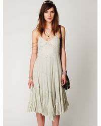 Free People | Green Fp One Diani Beach Dress | Lyst