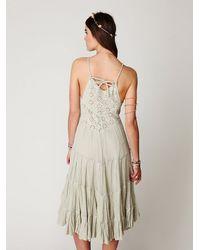 Free People - Green Fp One Diani Beach Dress - Lyst