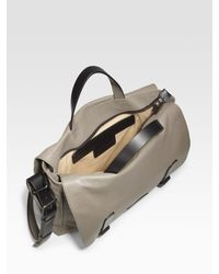 Marc By Marc Jacobs - Natural Simple Leather Robbie G Messenger Bag for Men - Lyst
