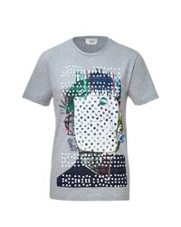 Marc Jacobs | Gray Abstract Print T-shirt for Men | Lyst