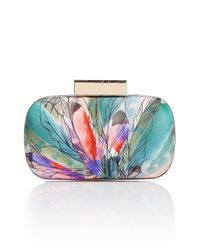 Matthew Williamson | Blush Multicolor Round Hard Clutch | Lyst