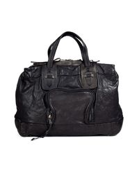 Neil Barrett | Black Leather Office Bag for Men | Lyst