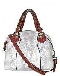 Pauric Sweeney | Metallic Python Overnight Shoulder Bag | Lyst